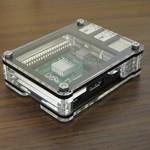 Raspberry Pi B+ Zebra Bold Case.