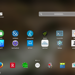 My Android tablet's Home screen.